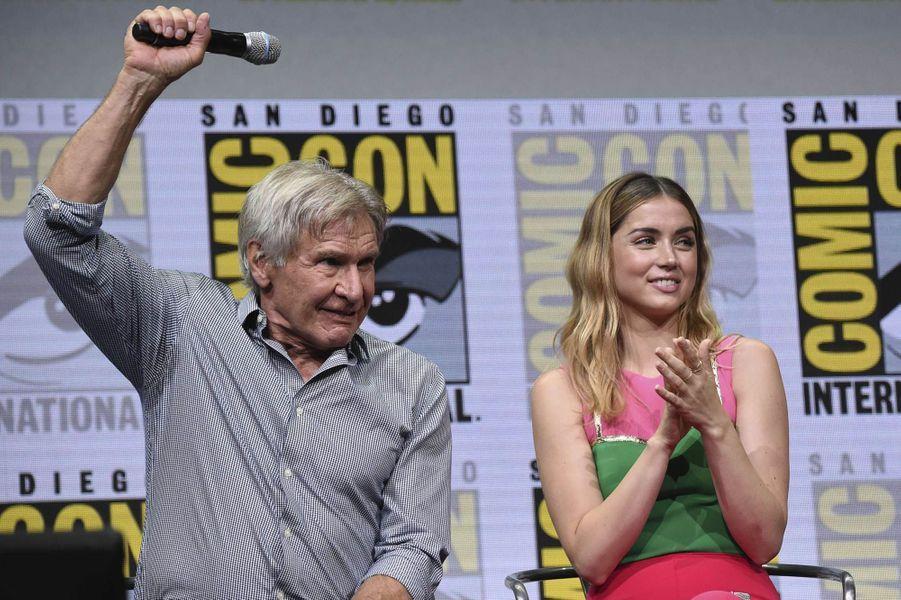 Harrison Ford lors du Comic-Con de San Diego.