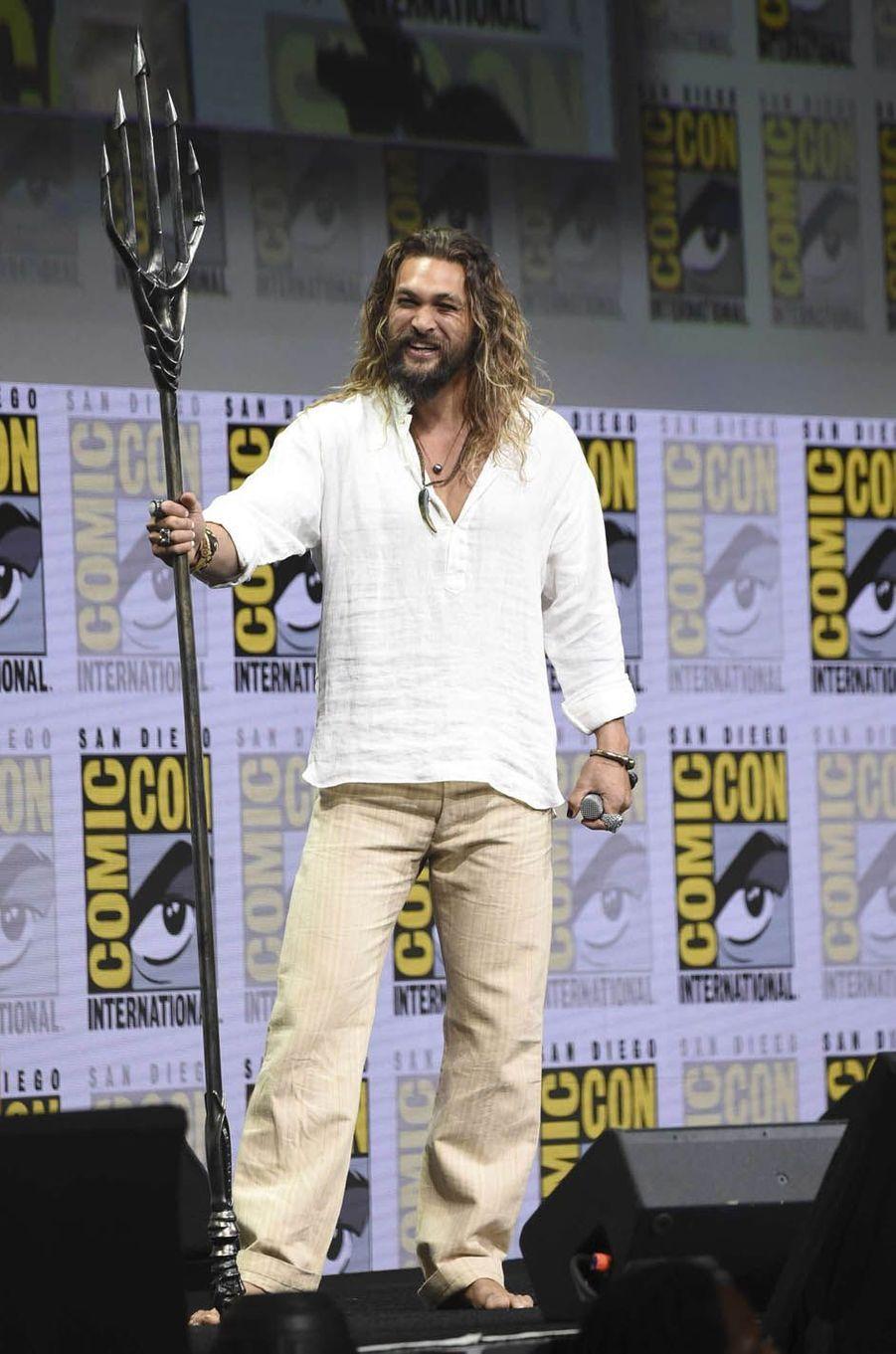 Jason Momoalors du Comic-Con de San Diego.