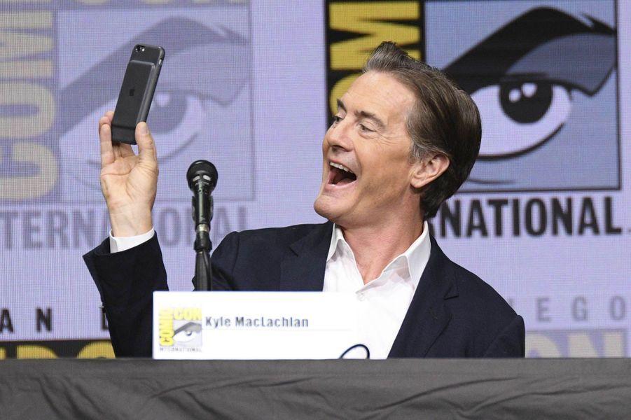 Kyle MacLachlanlors du Comic Con de San Diego.