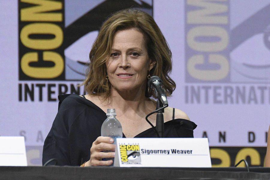 Sigourney Weaver lors du Comic-Con de San Diego.