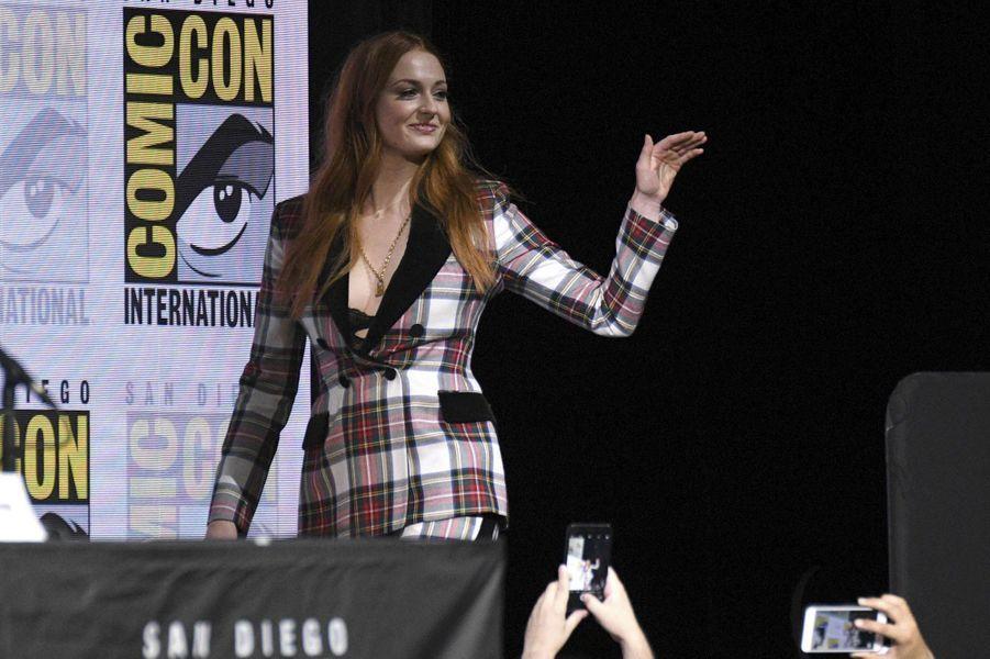 Sophie Turnerlors du Comic-Con de San Diego.