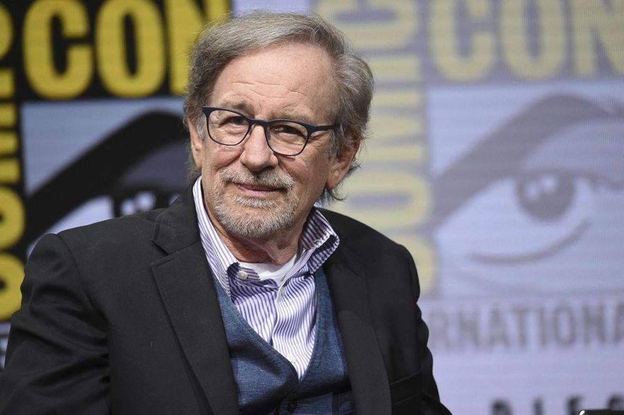 Steven Spielberg lors du Comic Con de San Diego.