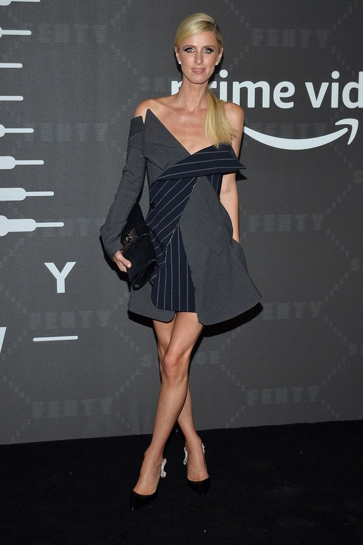 "Nicky Hiltonau défilé de laligne de lingerie ""Savage X Fenty"""