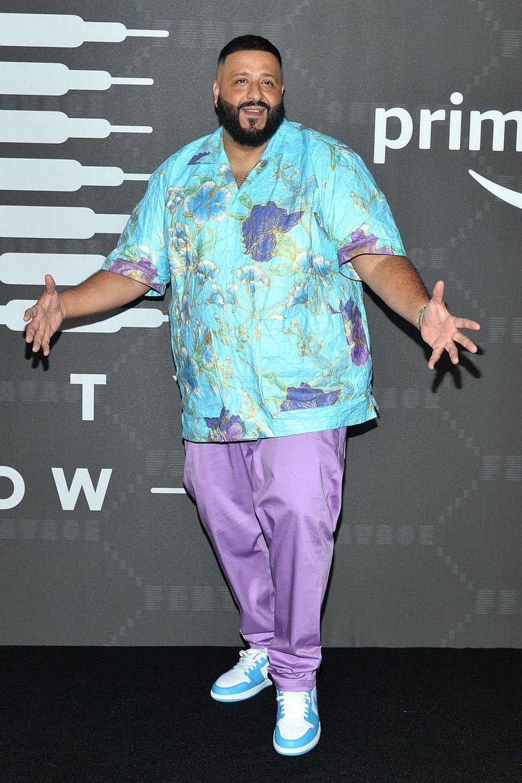 """DJ Khaledau défilé de laligne de lingerie """"Savage X Fenty"""""""