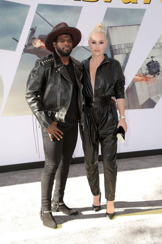 P.K. Subban et Lindsey Vonnà la première du film «Fast & Furious : Hobbs & Shaw» à Los Angeles le 13 juillet 2019