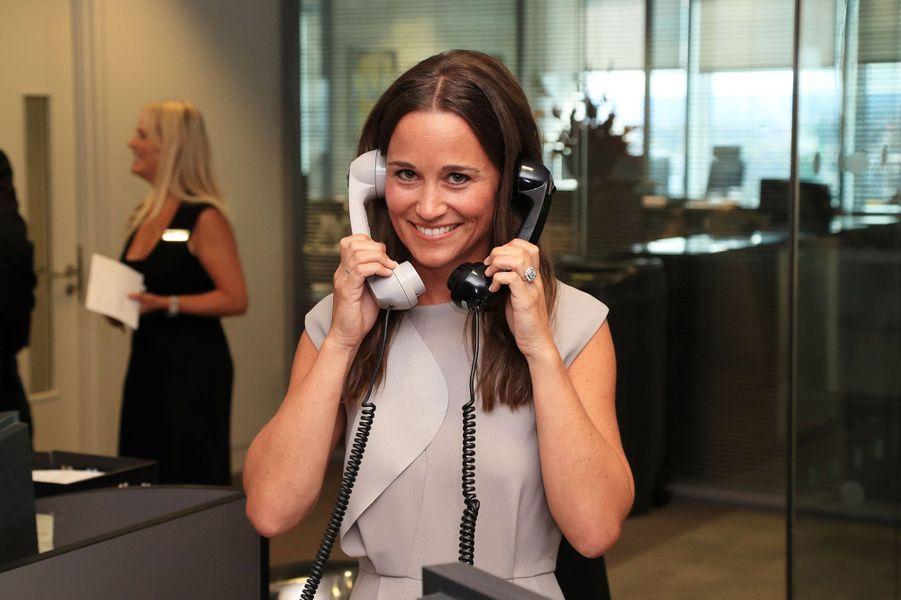 Pippa Middleton mobilisé pour le Charity Day à Londres.