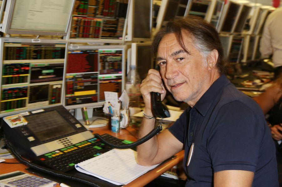 Richard Berrymobilisé pour le Charity Day.