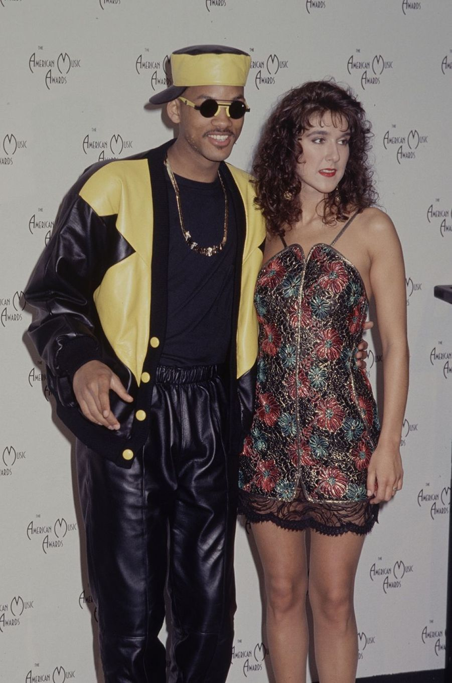 Will Smith et Céline Dion en 1991