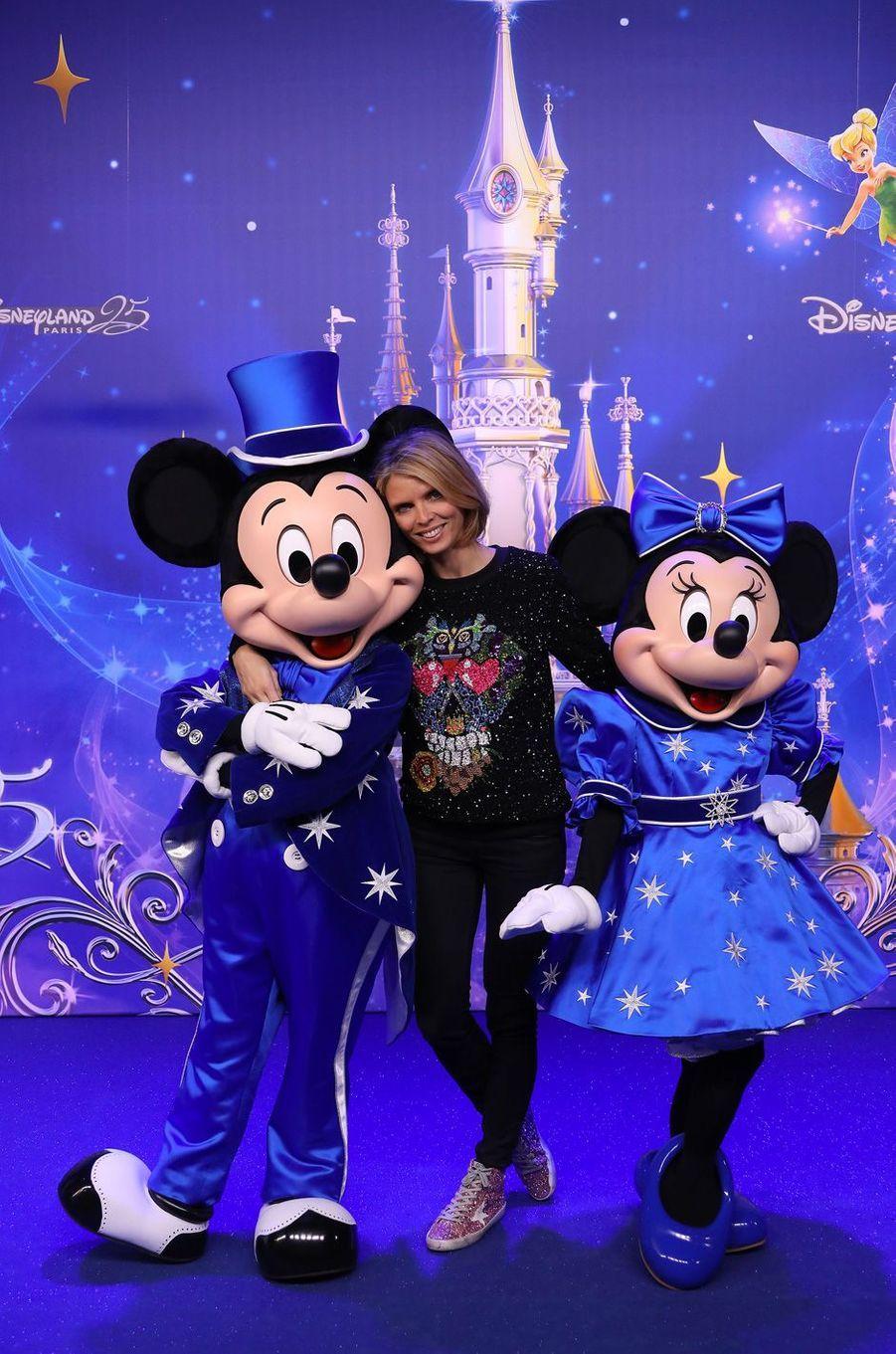 Sylvie Tellierà Disneyland Paris.