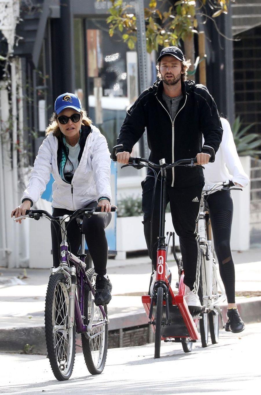 Maria Shriver et Patrick Schwarzenegger à Los Angeles le 29 mars 2020