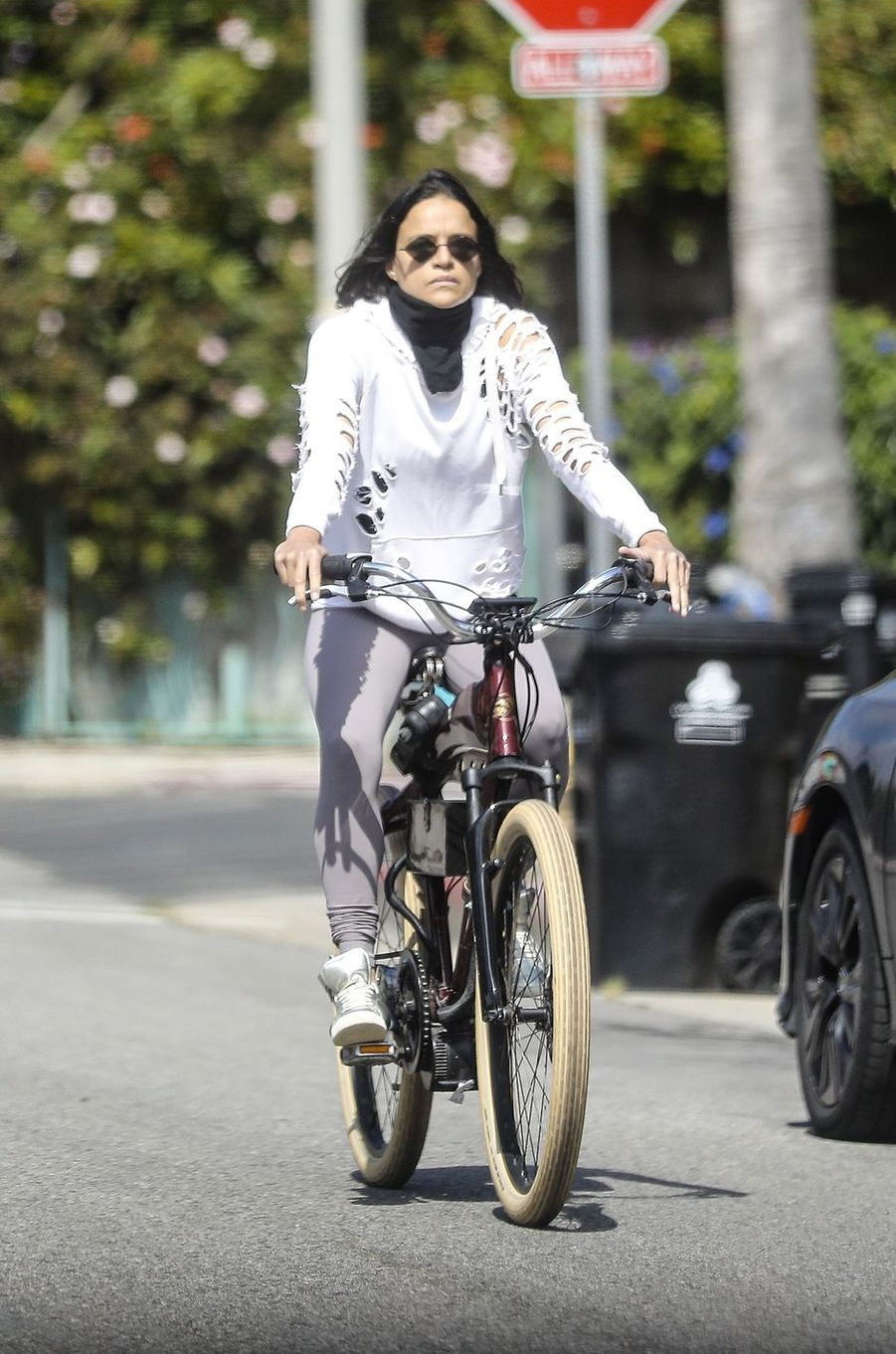 Michelle Rodriguez à Los Angeles le 14 avril 2020