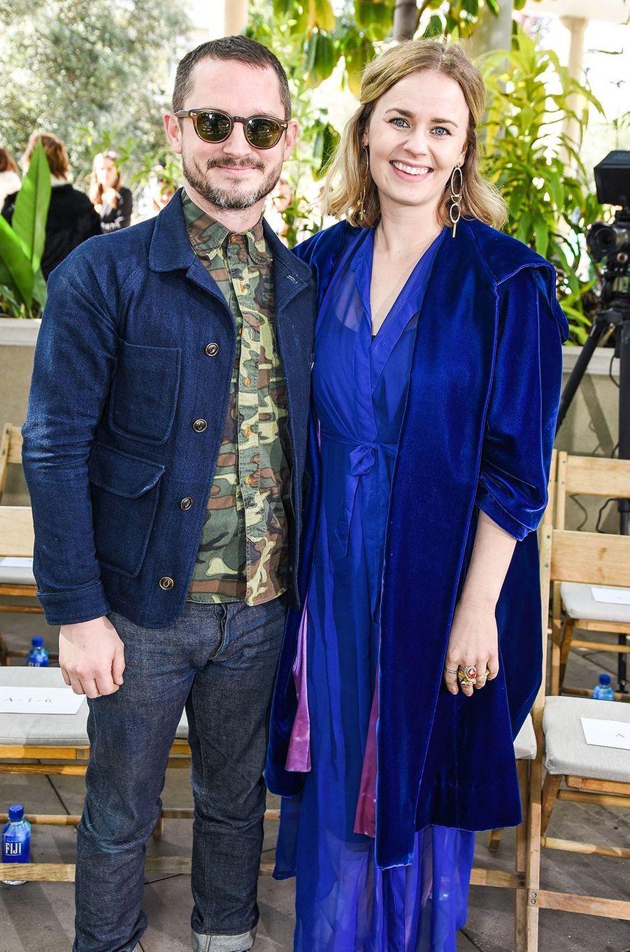 Elijah Wood et Mette-Marie Kongsved ont eu leur premier enfant en 2020.