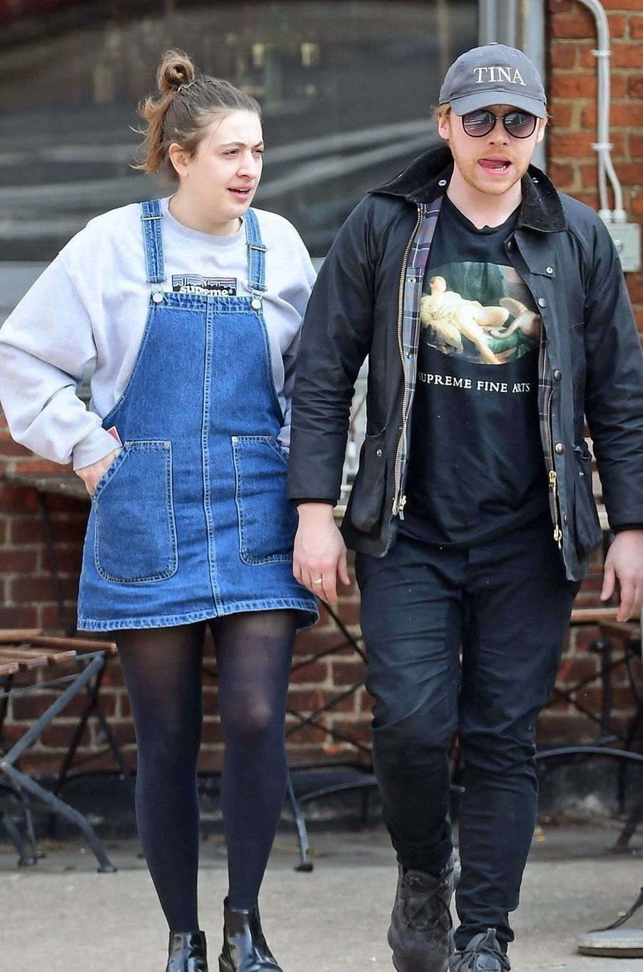 Georgia Groome et Rupert Grint ont eu une petite fille, Wednesday, née en mai 2020.