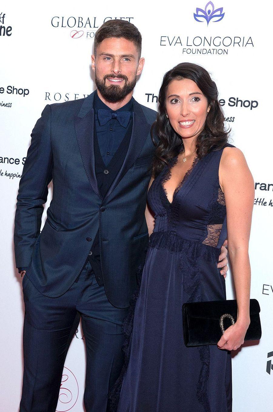Olivier et Jennifer Giroud sont parents pour la quatrième fois en 2020. Leur fille Aria est née en novembre.
