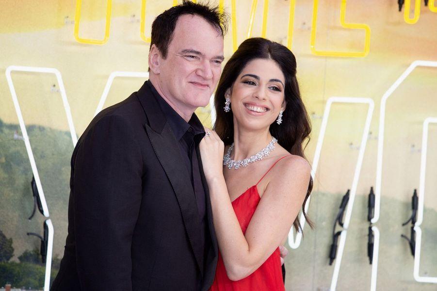 Quentin Tarantino et Daniella Pick sont devenus les parents d'un petit garçon en février 2020.