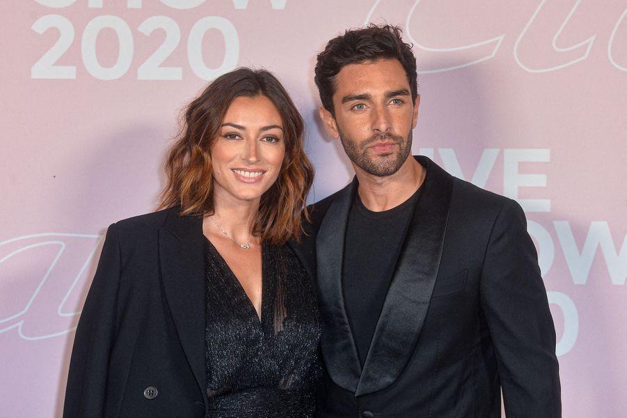 Rachel Legrain-Trapani et Valentin Leonard sont devenus les parents d'un petit Andrea en juillet 2020.