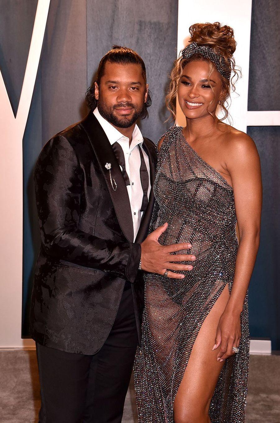 Russell Wilson et Ciara ont eu leur deuxième enfant en juillet 2020, un petitWin Harrison.