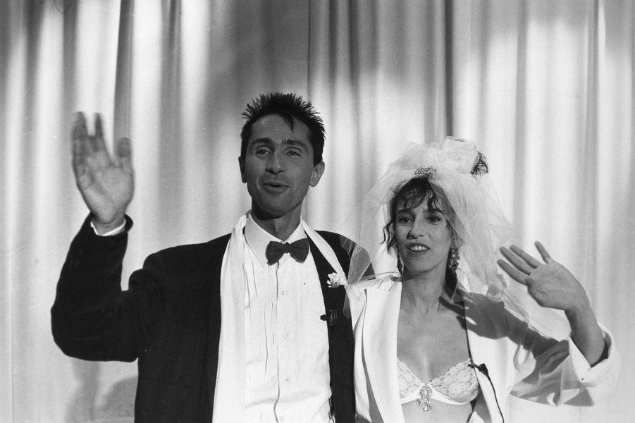 Anémone et Thierry Lhermitte en 1985 pour «Le Mariage du siècle»