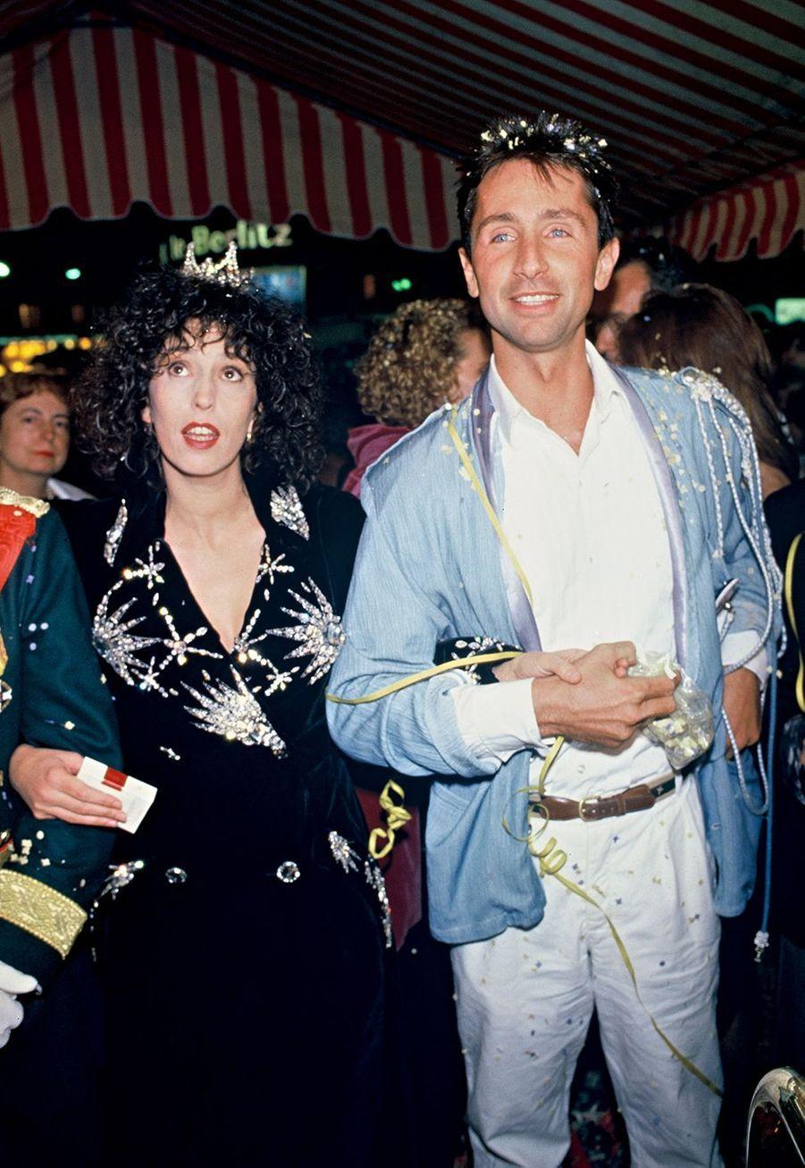 Anémone et Thierry Lhermitte en 1985