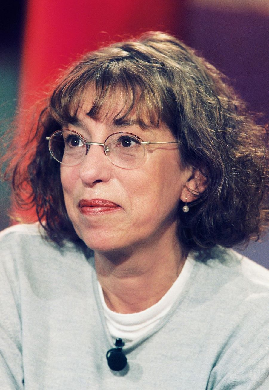 Anémone en 2001 sur le plateau de «Vivement dimanche»