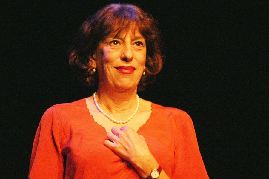 Anémone en 2004 au théâtre pour «Notre petite ville»