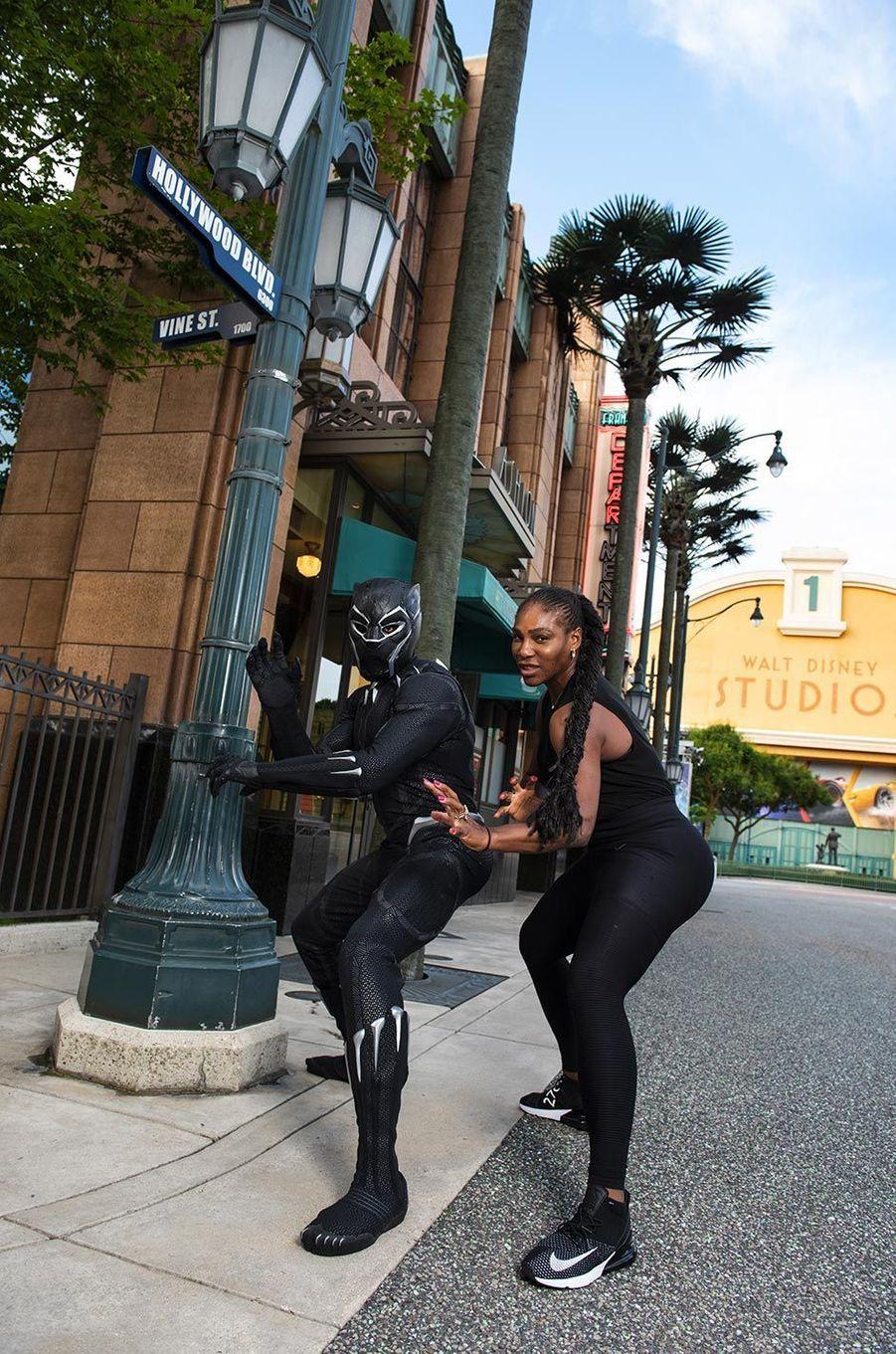 Serena Williamsà Disneyland Paris.