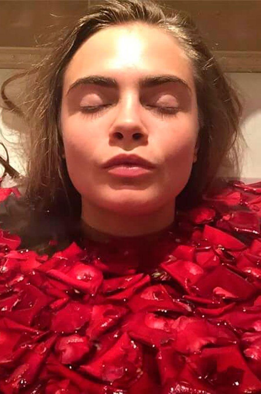 Cara Delevingne est actrice et mannequin