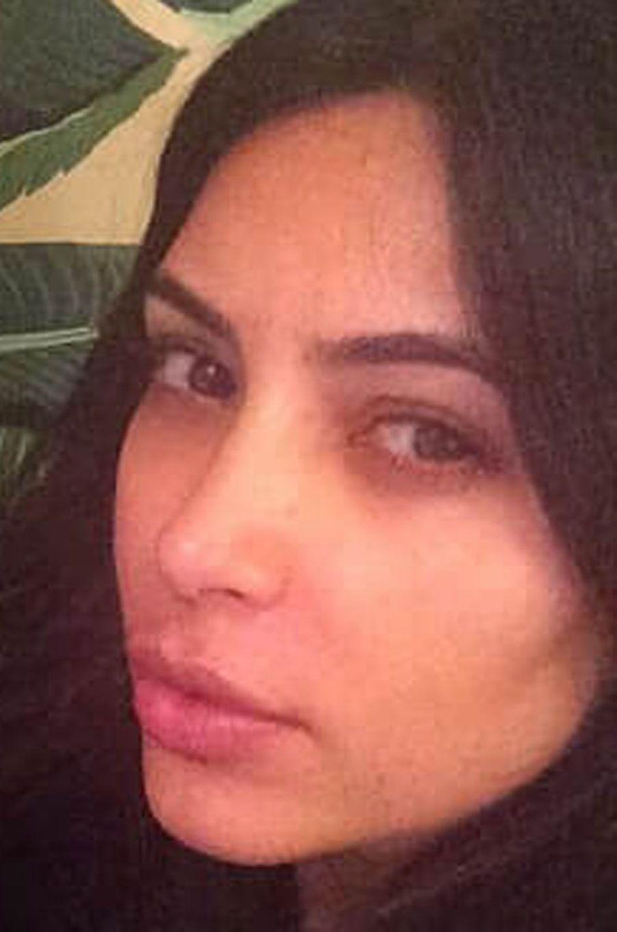Kim Kardashian belle au naturel.