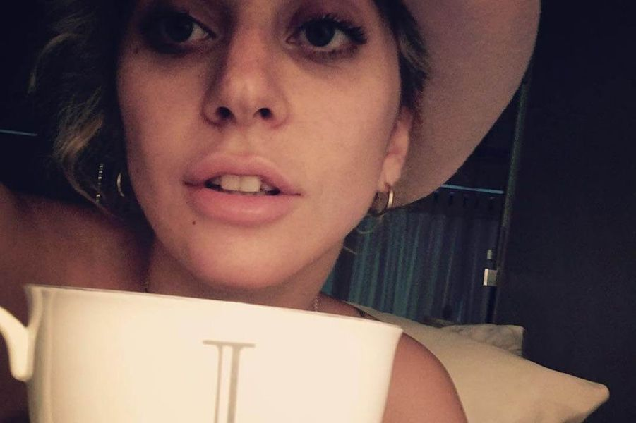 Lady Gaga sans maquillage.