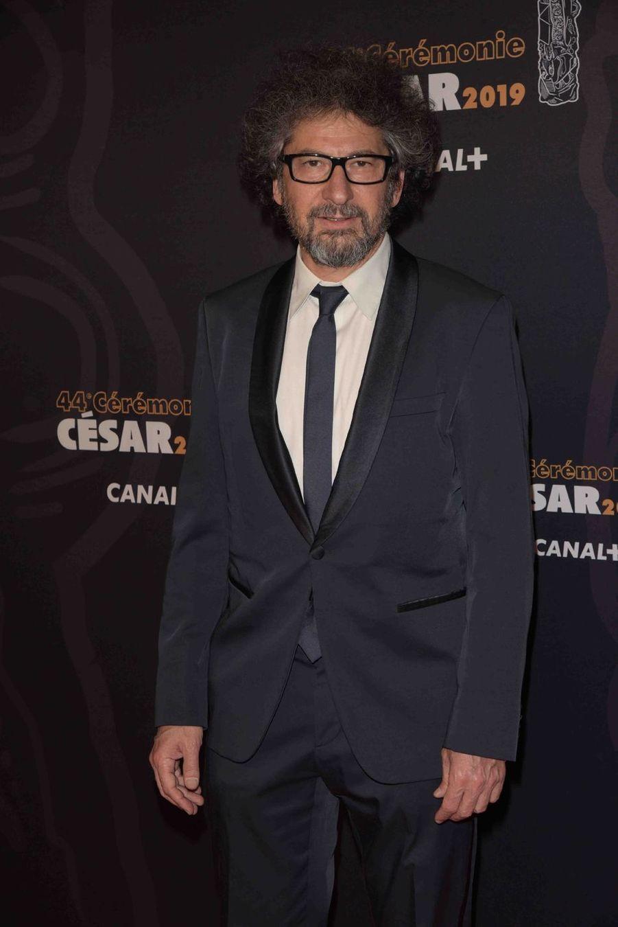 Radu Mihaileanu à la 44e cérémonie des César à la Salle Pleyel à Paris le 22 février 2019