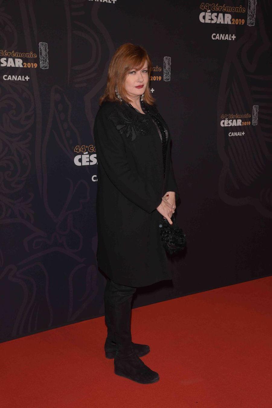Catherine Jacobà la 44e cérémonie des César à la Salle Pleyel à Paris le 22 février 2019
