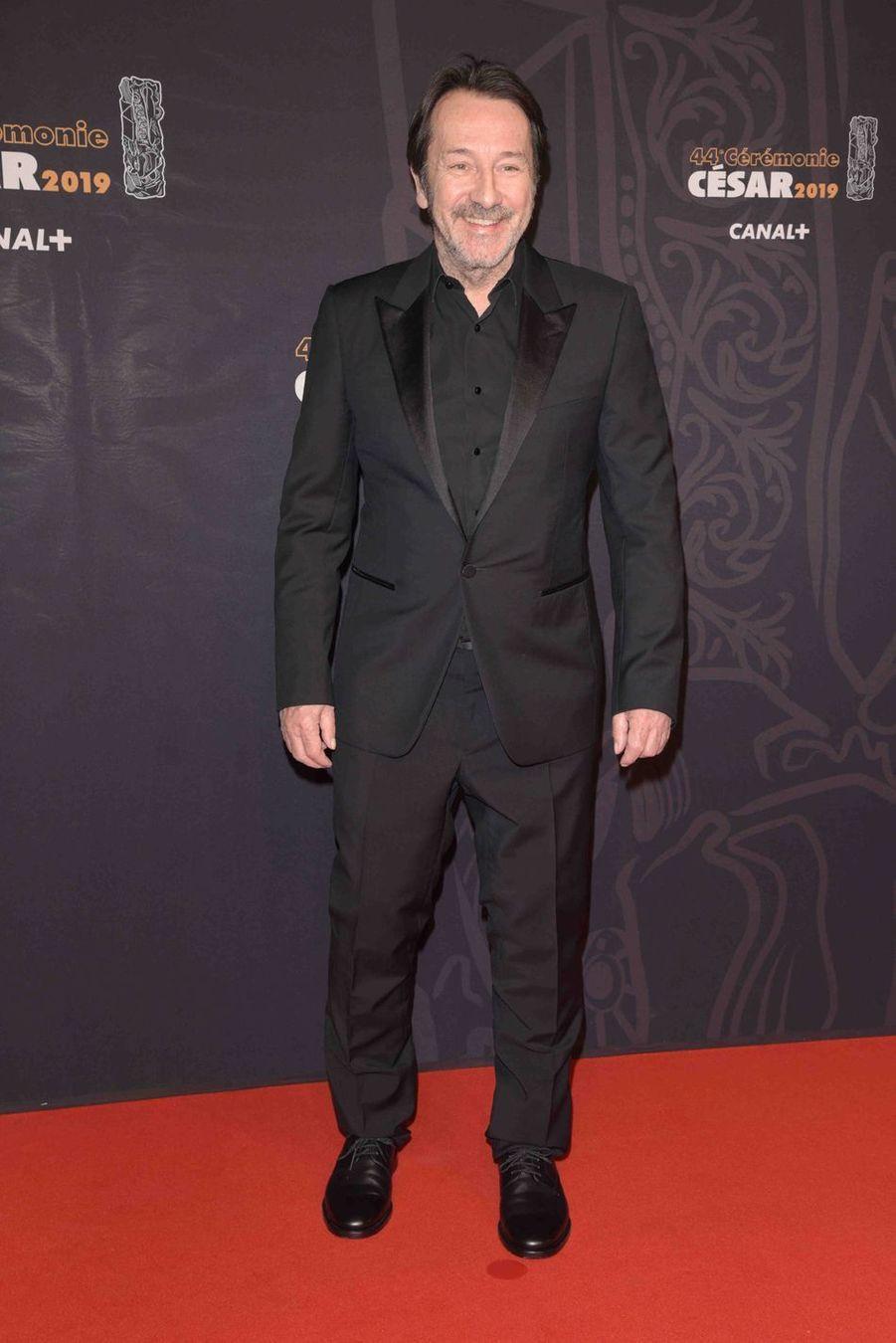 Jean-Hugues Angladeà la 44e cérémonie des César à la Salle Pleyel à Paris le 22 février 2019
