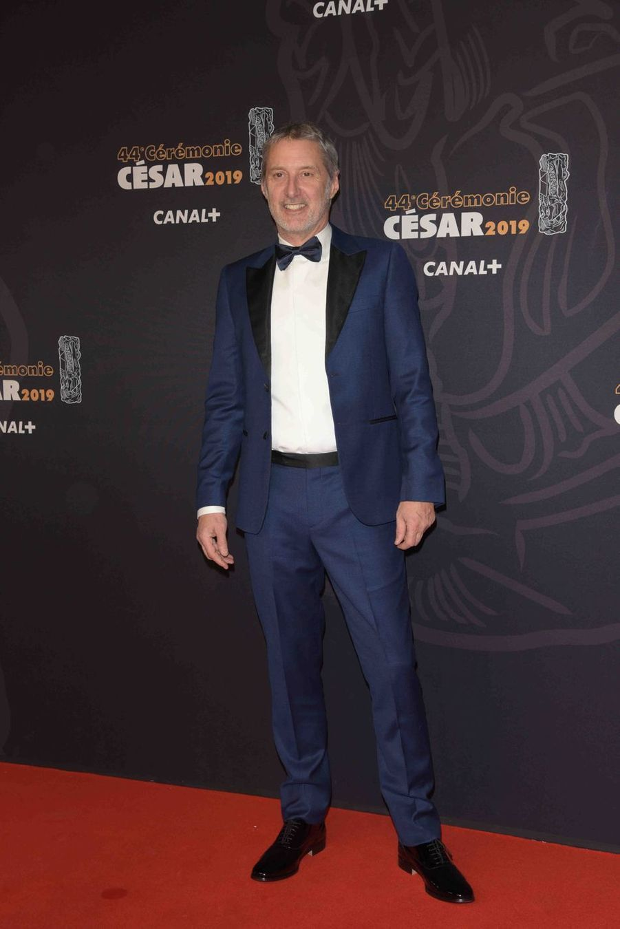 Antoine de Caunesà la 44e cérémonie des César à la Salle Pleyel à Paris le 22 février 2019