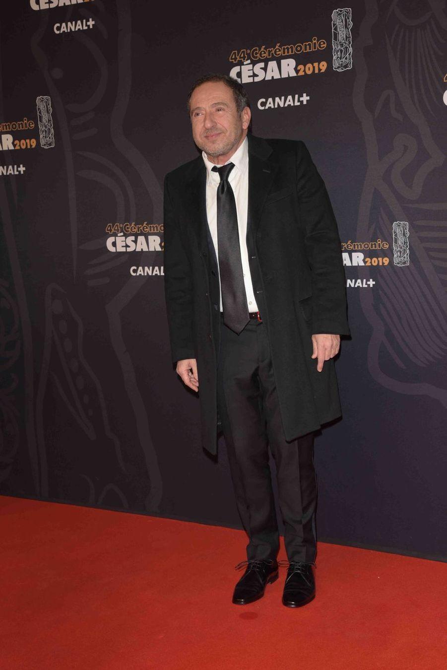 Patrick Timsità la 44e cérémonie des César à la Salle Pleyel à Paris le 22 février 2019