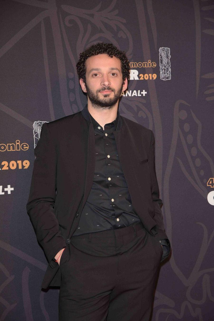 William Lebghilà la 44e cérémonie des César à la Salle Pleyel à Paris le 22 février 2019