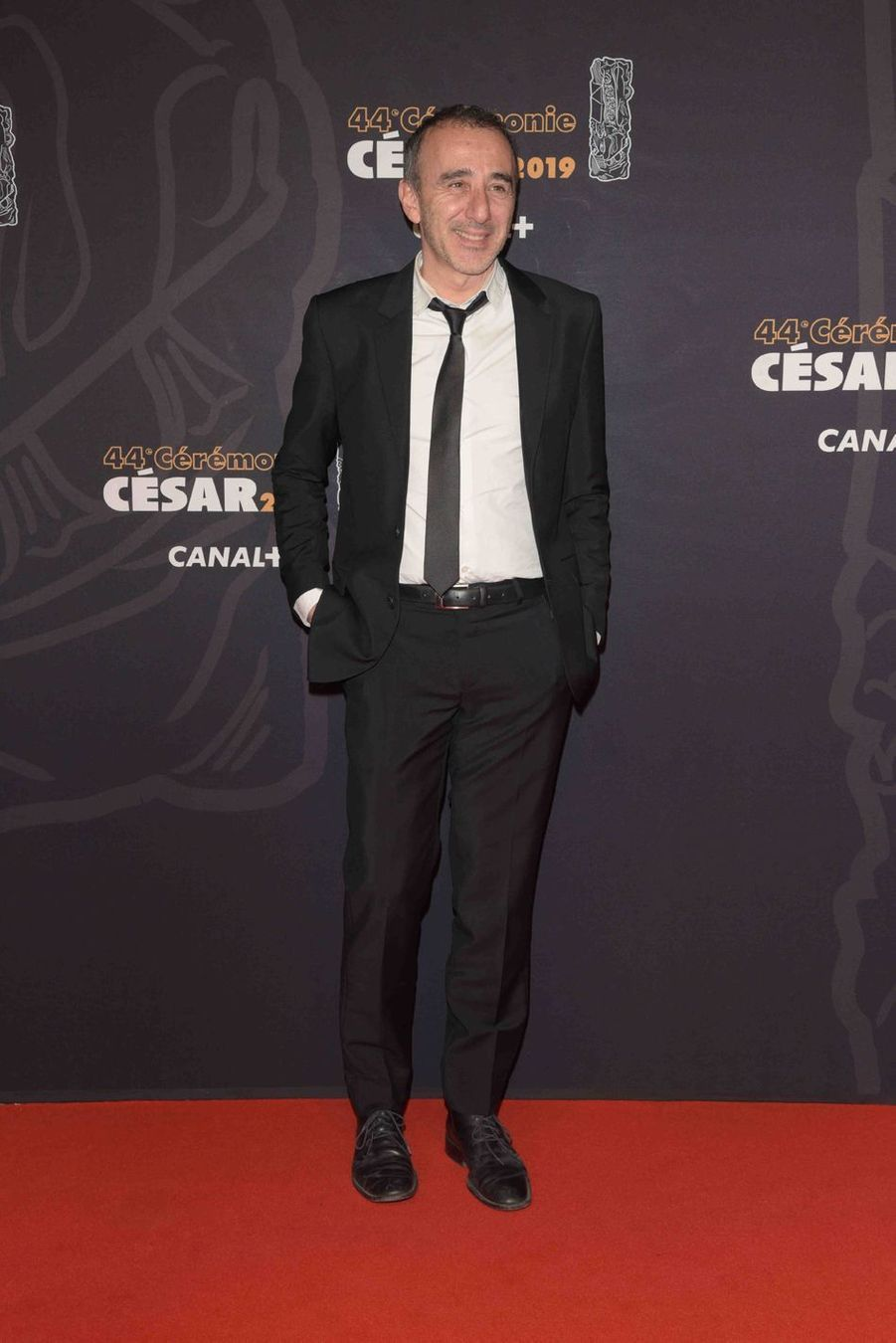 Elie Semounà la 44e cérémonie des César à la Salle Pleyel à Paris le 22 février 2019
