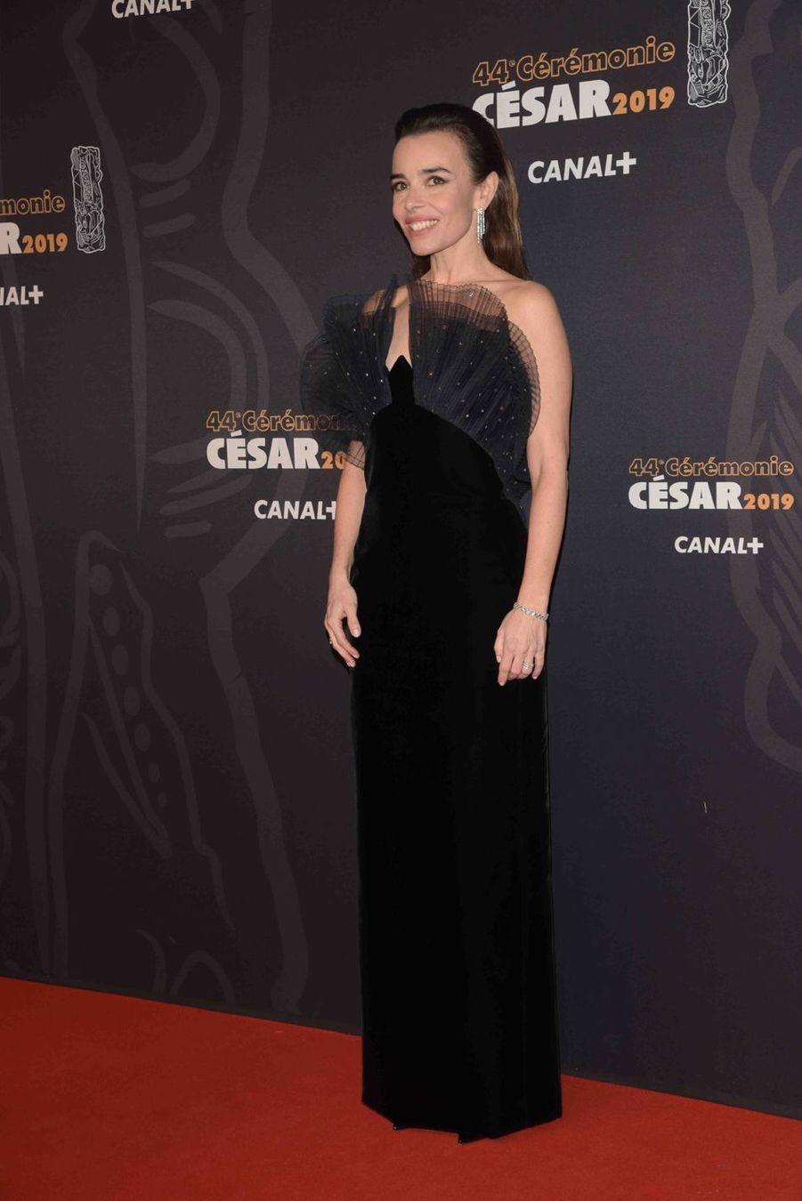 Elodie Bouchezà la 44e cérémonie des César à la Salle Pleyel à Paris le 22 février 2019