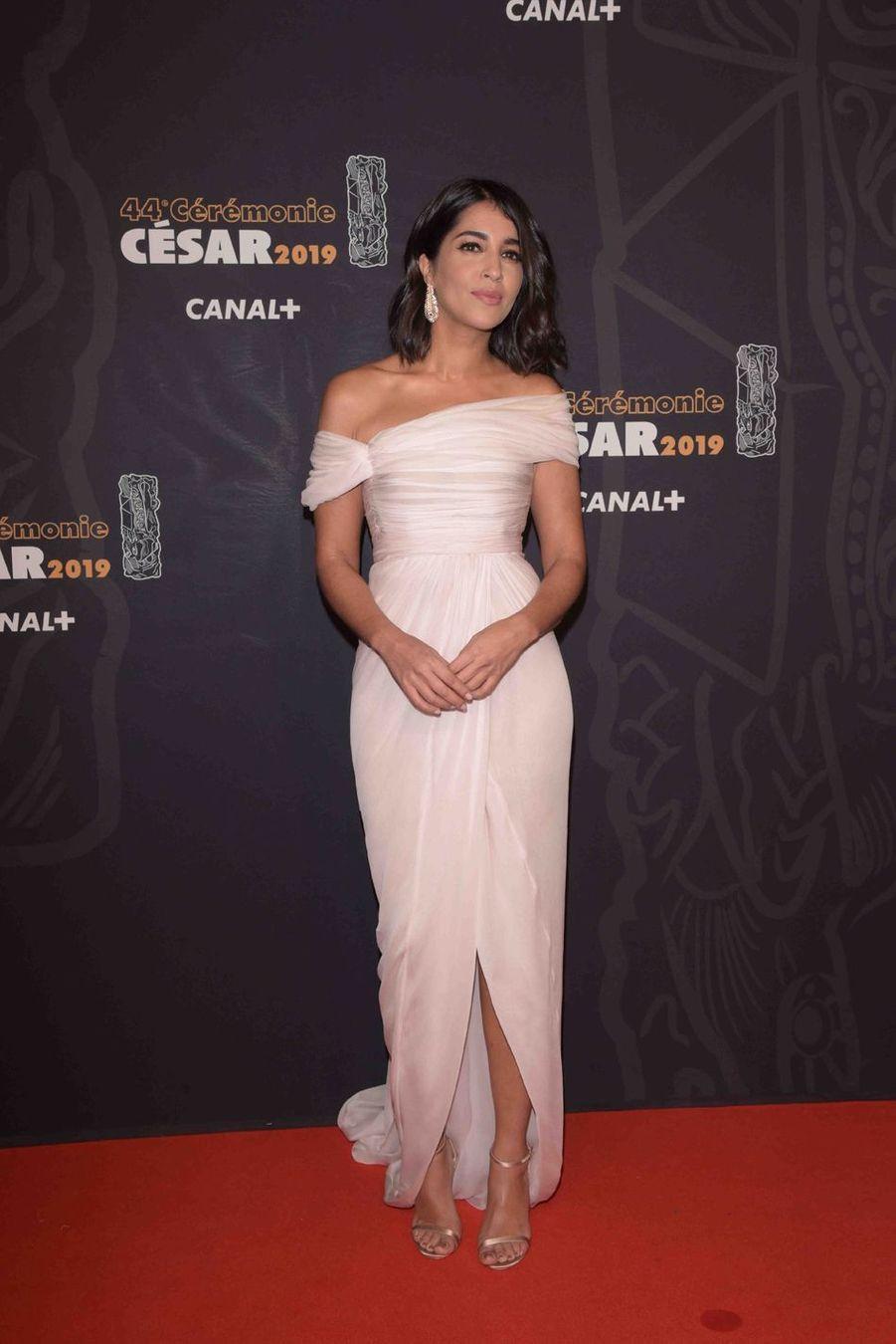 Leïla Bekhti à la 44e cérémonie des César à la Salle Pleyel à Paris le 22 février 2019
