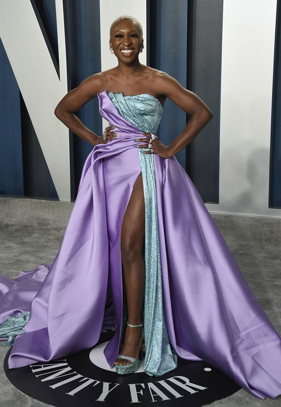 Cynthia Erivo à l'after-party des Oscars organisée par «Vanity Fair» à Los Angeles le 9 février 2020