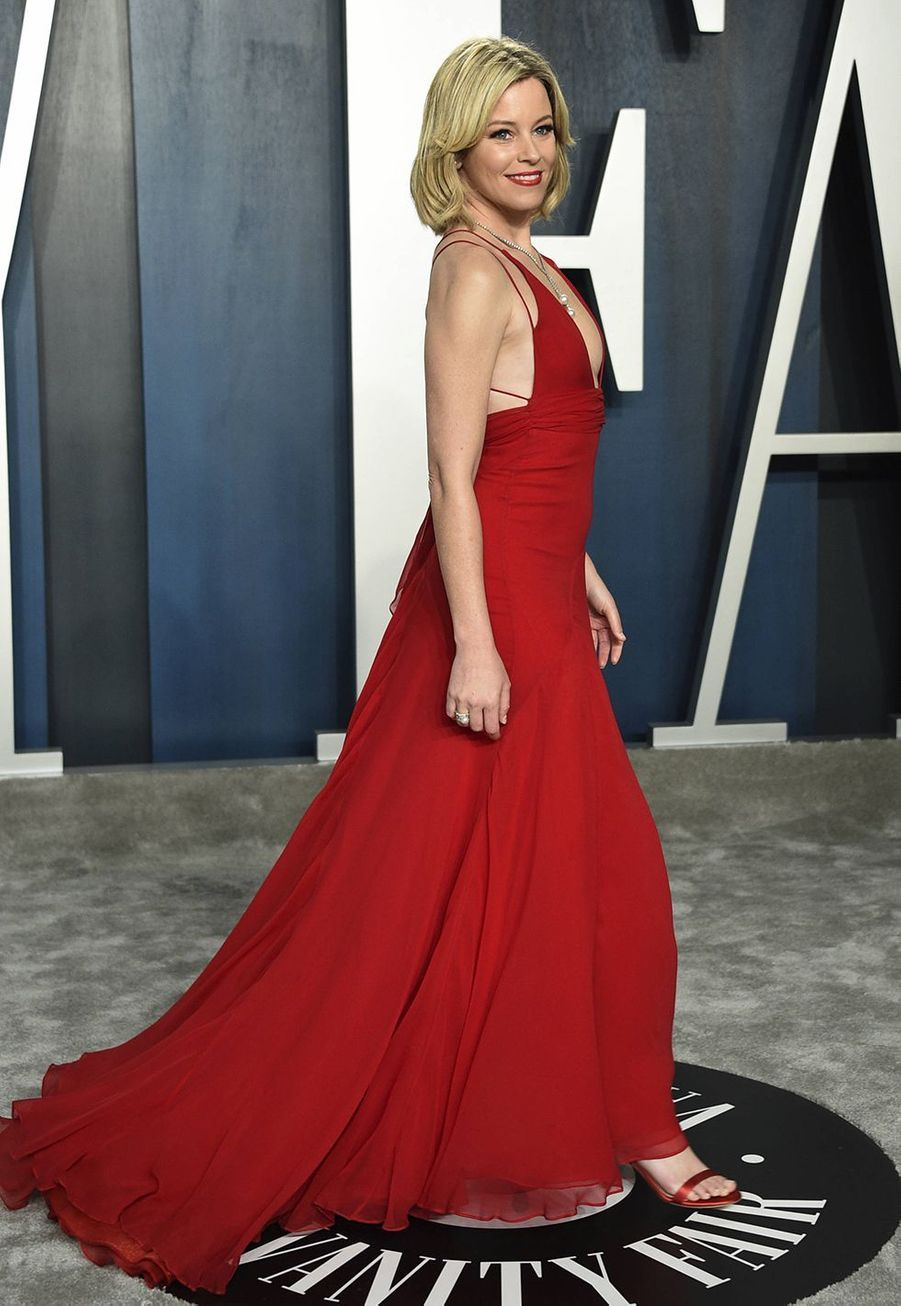 Elizabeth Banks à l'after-party des Oscars organisée par «Vanity Fair» à Los Angeles le 9 février 2020