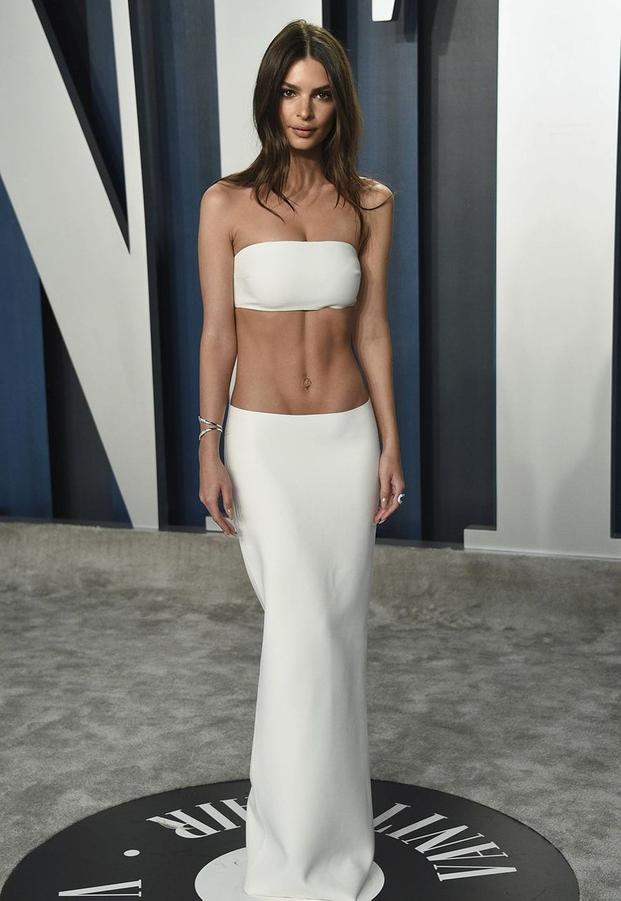 Emily Ratajkowski à l'after-party des Oscars organisée par «Vanity Fair» à Los Angeles le 9 février 2020