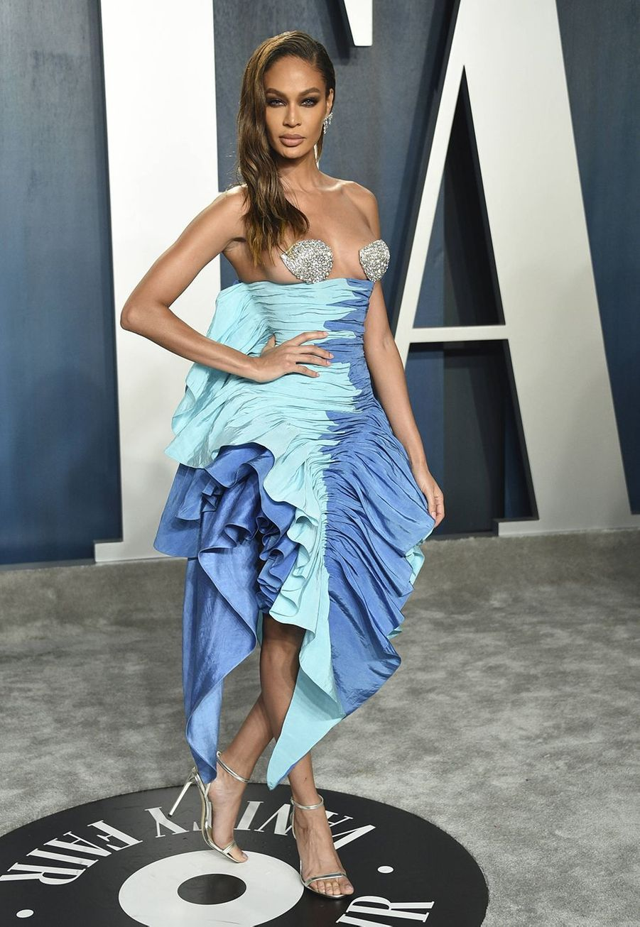 Joan Smalls à l'after-party des Oscars organisée par «Vanity Fair» à Los Angeles le 9 février 2020