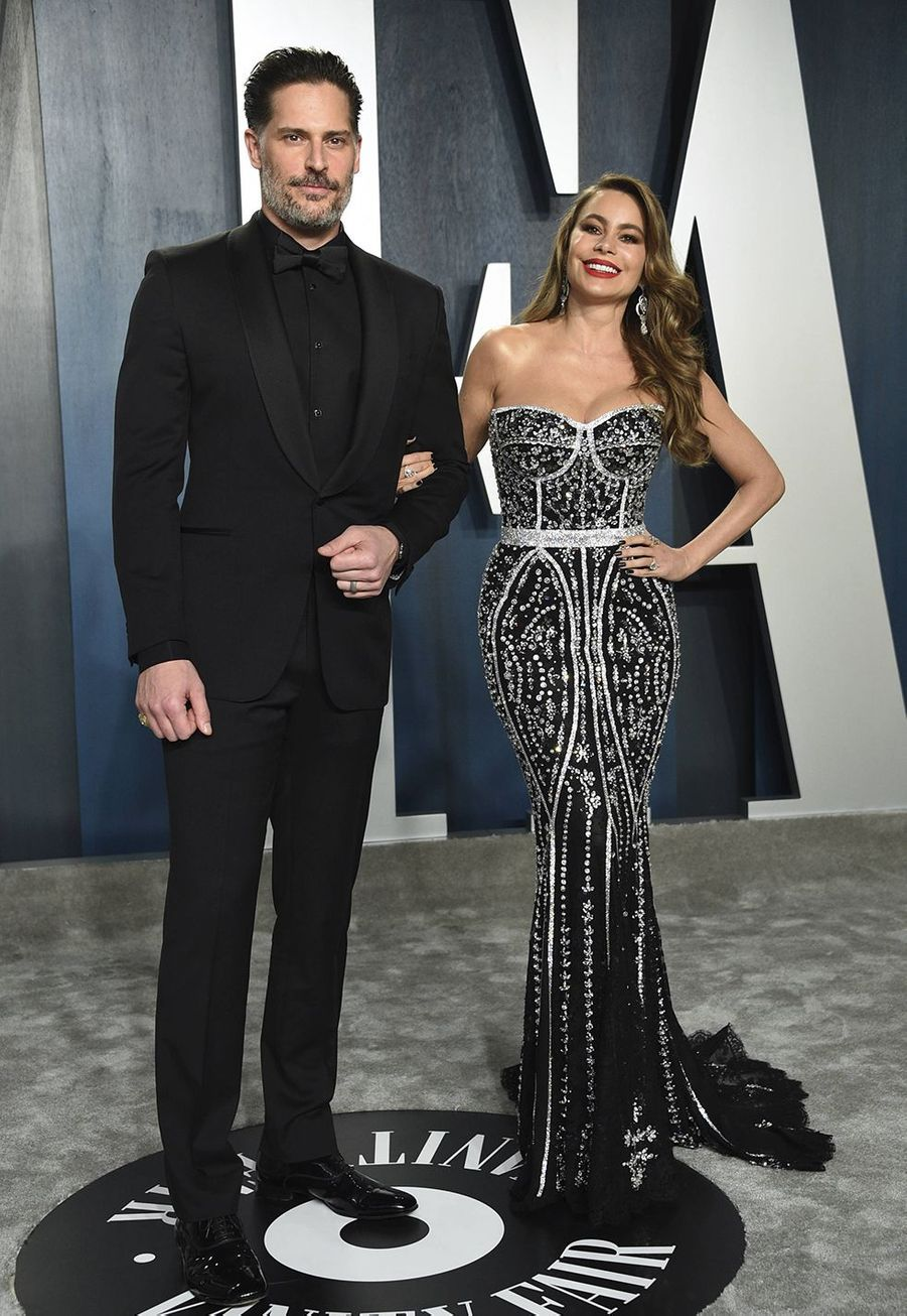 Joe Manganiello et Sofia Vergara à l'after-party des Oscars organisée par «Vanity Fair» à Los Angeles le 9 février 2020
