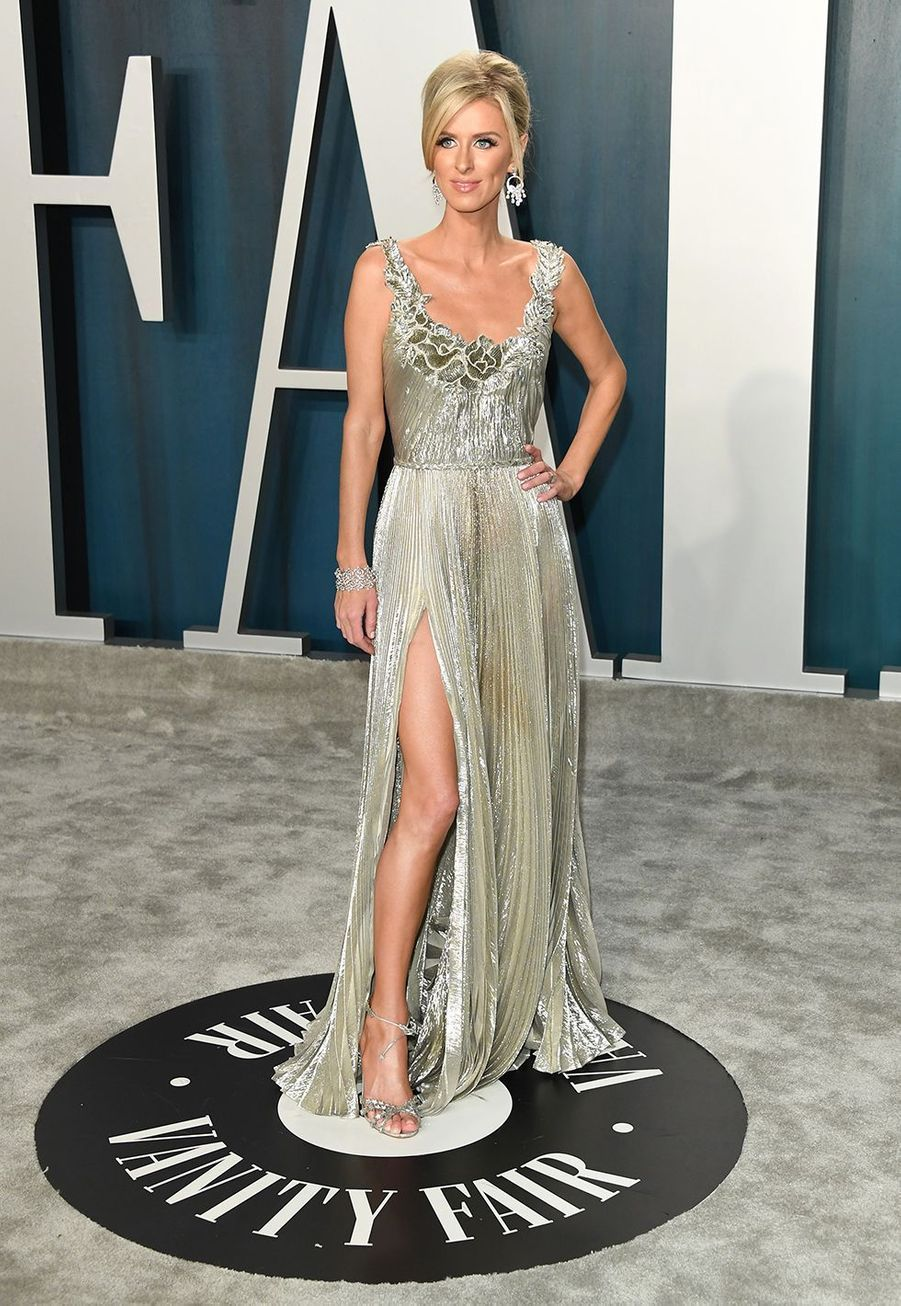 Nicky Hilton à l'after-party des Oscars organisée par «Vanity Fair» à Los Angeles le 9 février 2020