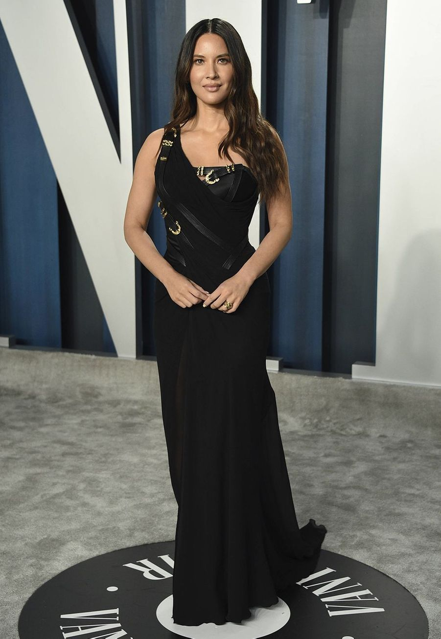 Olivia Munn à l'after-party des Oscars organisée par «Vanity Fair» à Los Angeles le 9 février 2020