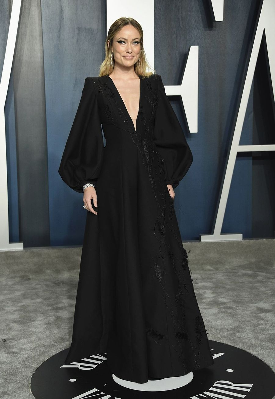 Olivia Wilde à l'after-party des Oscars organisée par «Vanity Fair» à Los Angeles le 9 février 2020