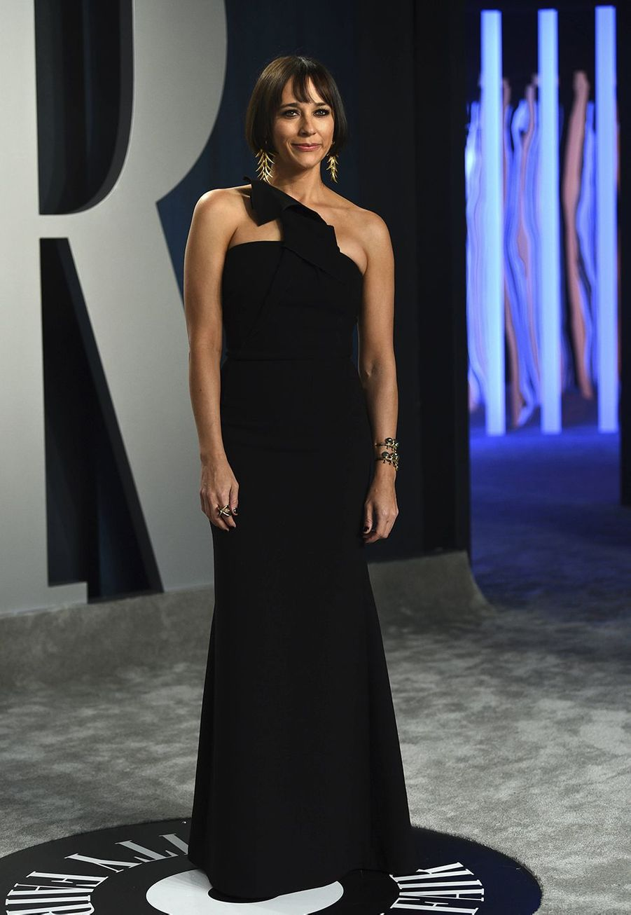 Rashida Jones à l'after-party des Oscars organisée par «Vanity Fair» à Los Angeles le 9 février 2020