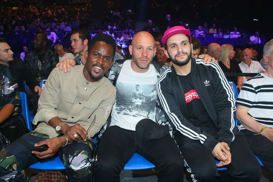 Black M, Franck Gastambide, Malik Bentalha.