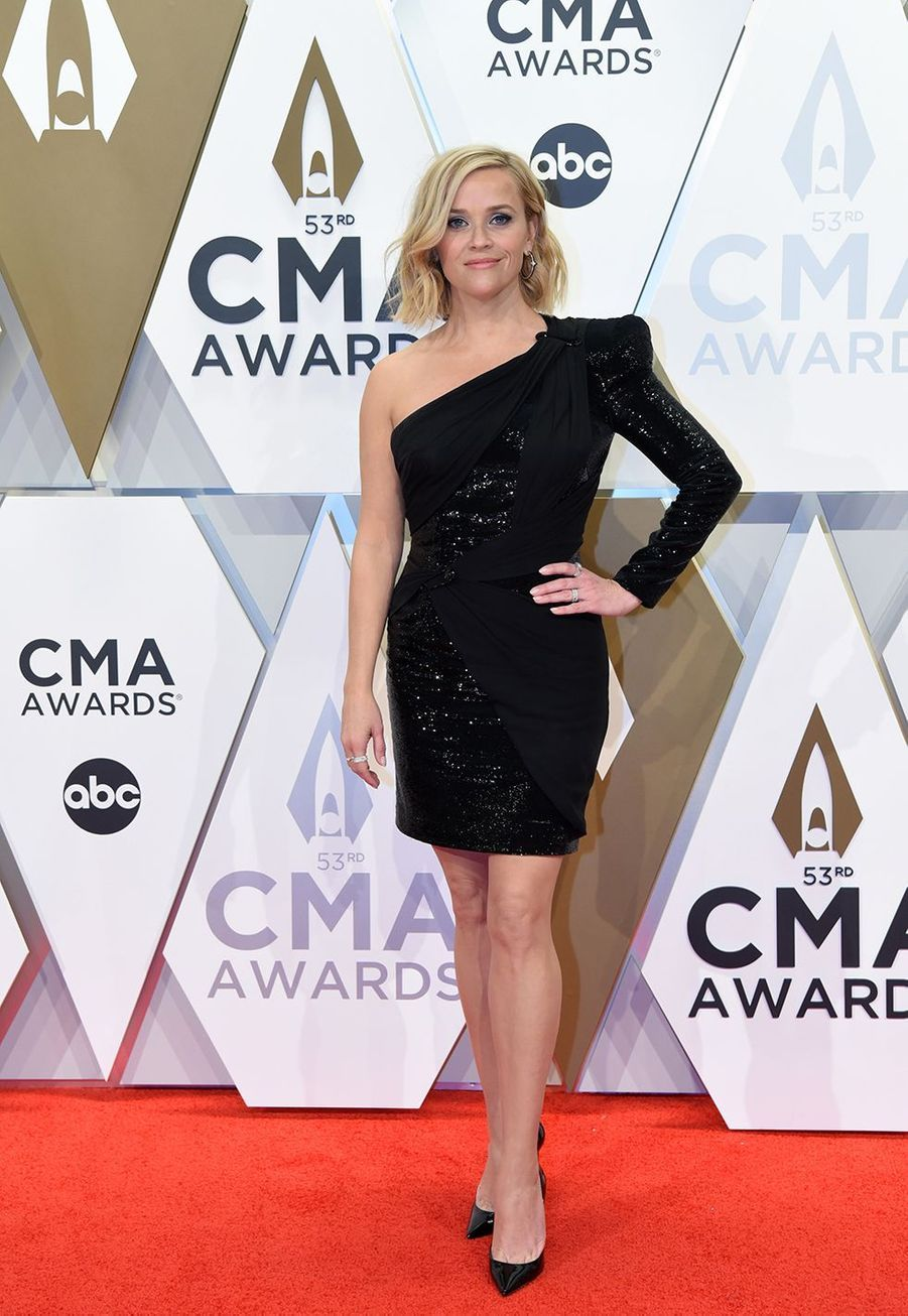 Reese Witherspoonaux Country Music Awards à Nashville le 13 novembre 2019