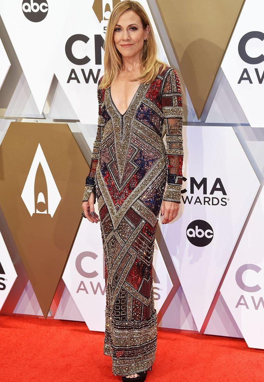 Sheryl Crowaux Country Music Awards à Nashville le 13 novembre 2019